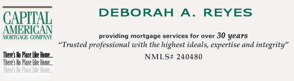 Deborah Reyes, mortgage_services. There's no place like home